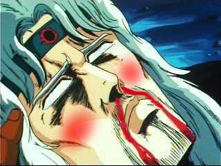 トキ鼻血2