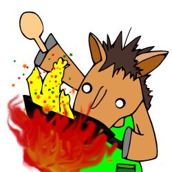 馬ニートずぼら飯1