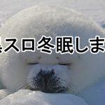 黒スロ冬眠します。
